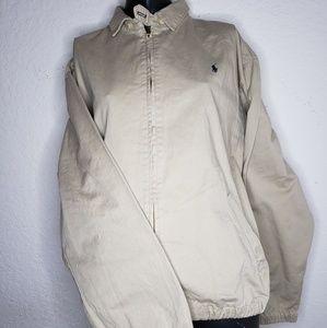 Vintage Polo Ralph Lauren Collared Jacket Zip Up